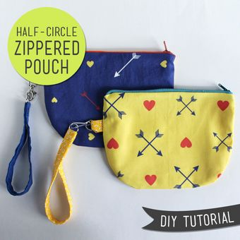 Free Sewing Pattern - How To Make a Belt Pouch from the Bags Free