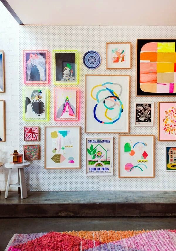 My 4 Tips for Creating a Kids Art Wall | Danielle Oakey Interiors ...