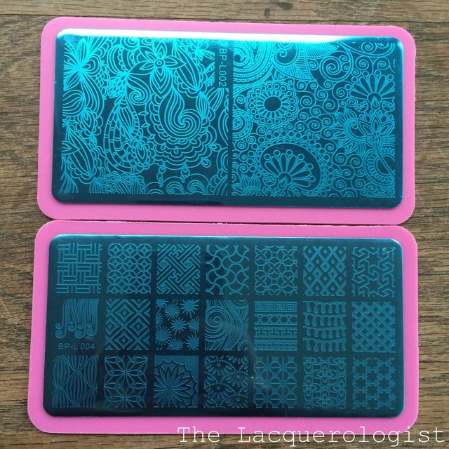 Born Pretty Store Stamping Plates: Initial Review & Nail Art