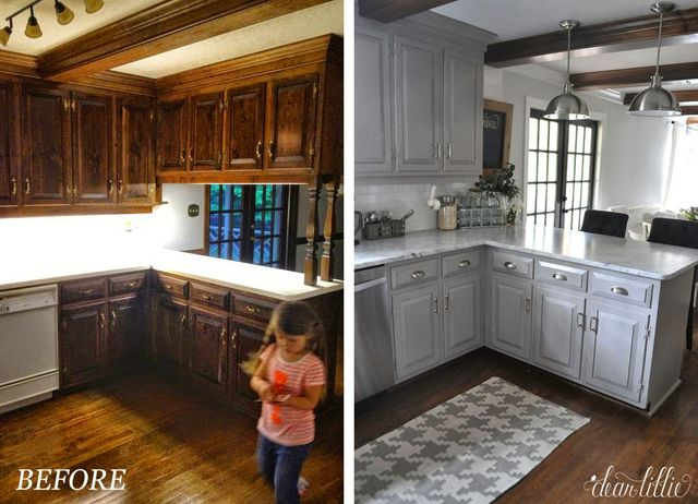The Finishing Touches On Our Kitchen Makeover Before And