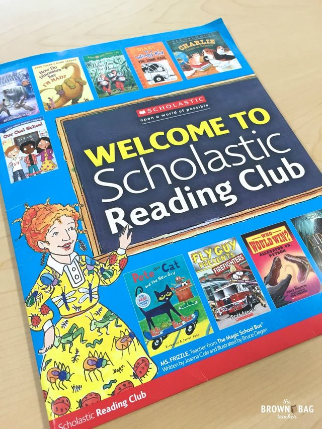 Scholastic Reading Club Tips Amp Tricks The Brown Bag