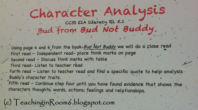 character analysis essay step by step