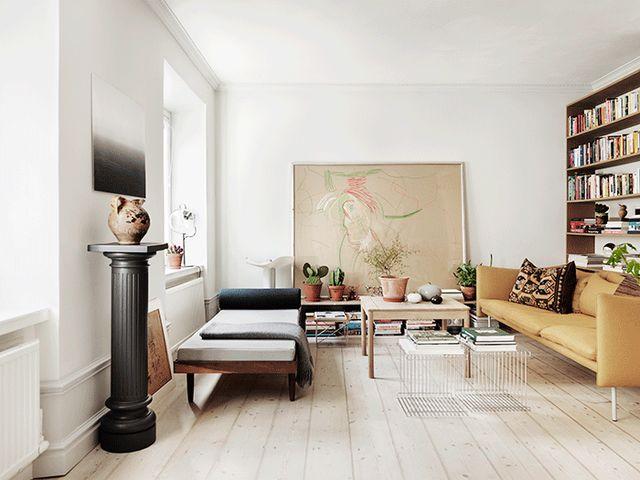 Stylisme par emma persson lagerberg lune de mes stylistes préférées son propre appartement que javais publié ici minspire toujours autant et photo par