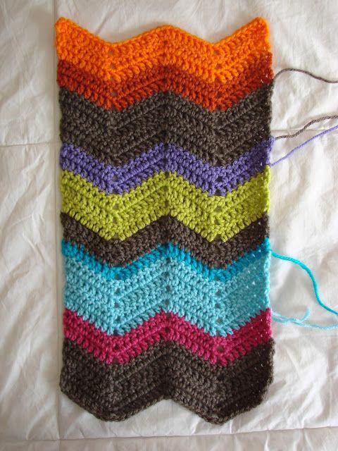 Chevron Scarf Pattern Crochet In Color Bloglovin