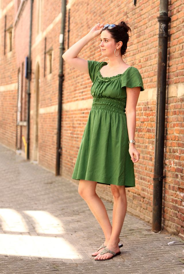 4f329f2cc Green Grecian Dress   The Styling Dutchman   Bloglovin'