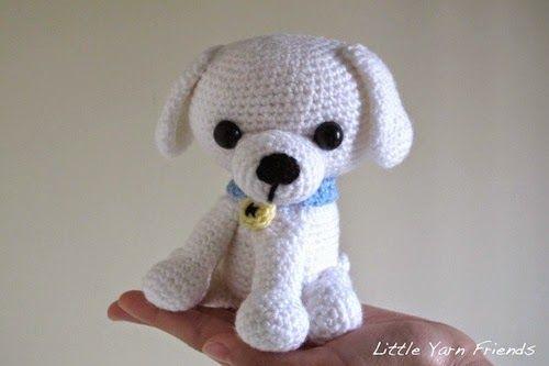 Amigurumi Pattern Lil Quack : Free Amigurumi Crochet Pattern: Lil Kino the Puppy Free ...