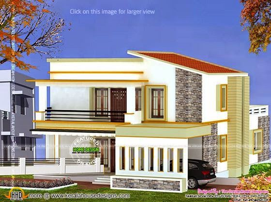 3d View And Floor Plan Kerala Home Design Bloglovin