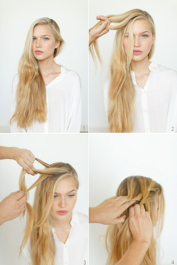 valentine 39 s day hair romantic side braid express o bloglovin. Black Bedroom Furniture Sets. Home Design Ideas