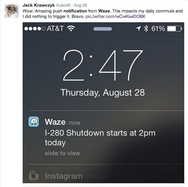 New data on push notifications show up to 40% CTRs, the best perform
