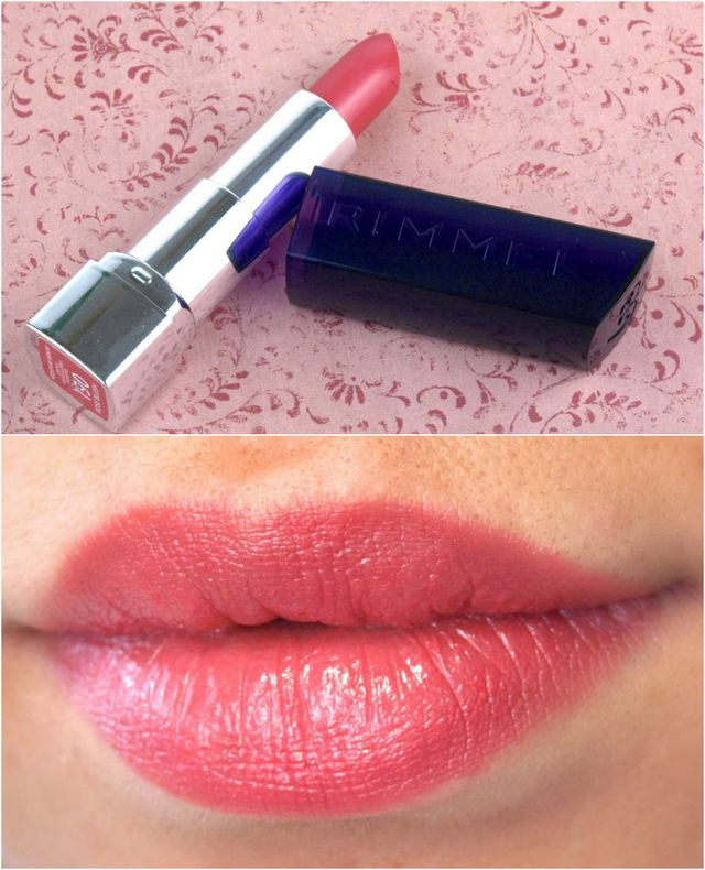 """Rimmel London Moisture Renew Lipsticks in """"505 Red Alert"""", """"190 Rose Blush"""" & """"240 Tower of Mauve"""": Review and Swatches"""