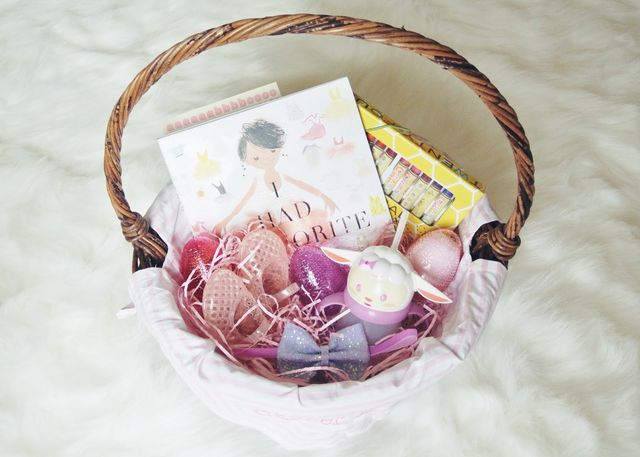 Easter basket goodies little baby garvin bloglovin baby girls arrival so for the first time ever or at least during this pregnancy i got a major head start on something filling up the girls easter negle Choice Image