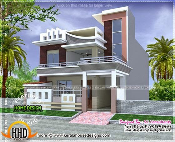 Plan available modern house kerala home design for Home design 7 x 10