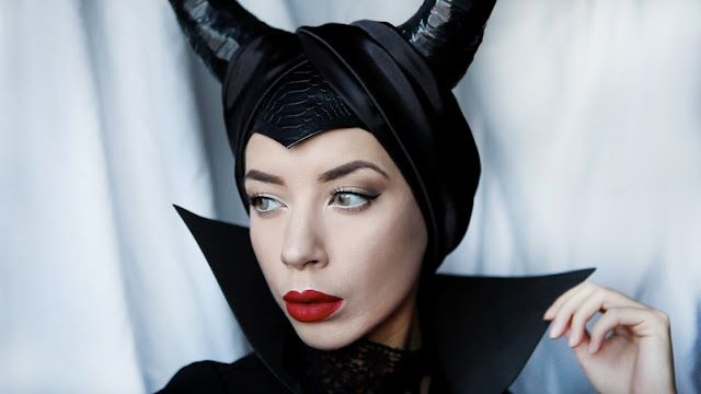 f61e3c10185b6 Maleficent DIY Halloween Outfit