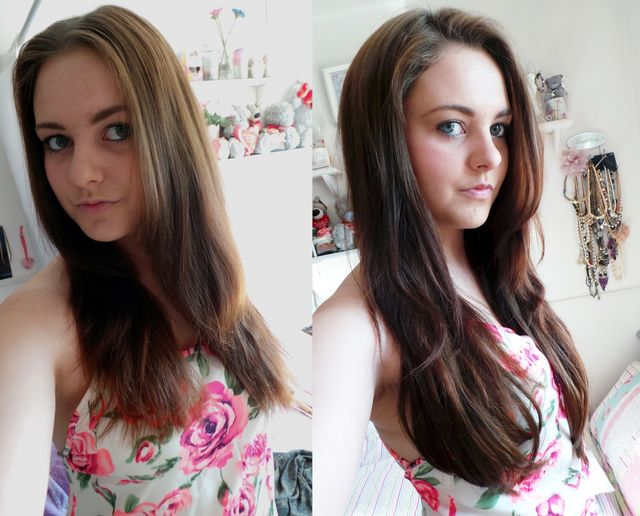 Dirty Looks Hk Full Head Hair Extensions Review Melted Chocolate