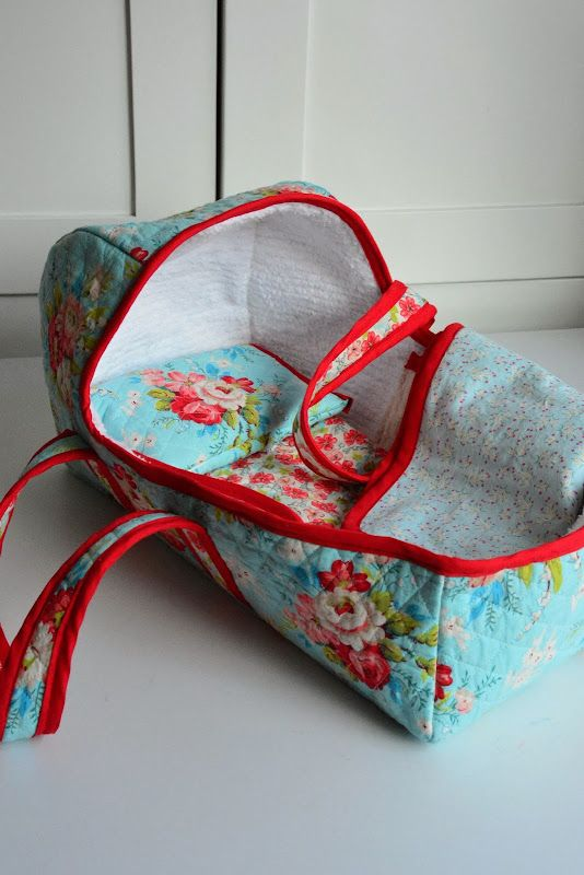 Sewing Baby Doll Baskets For The Waldorf Dolls