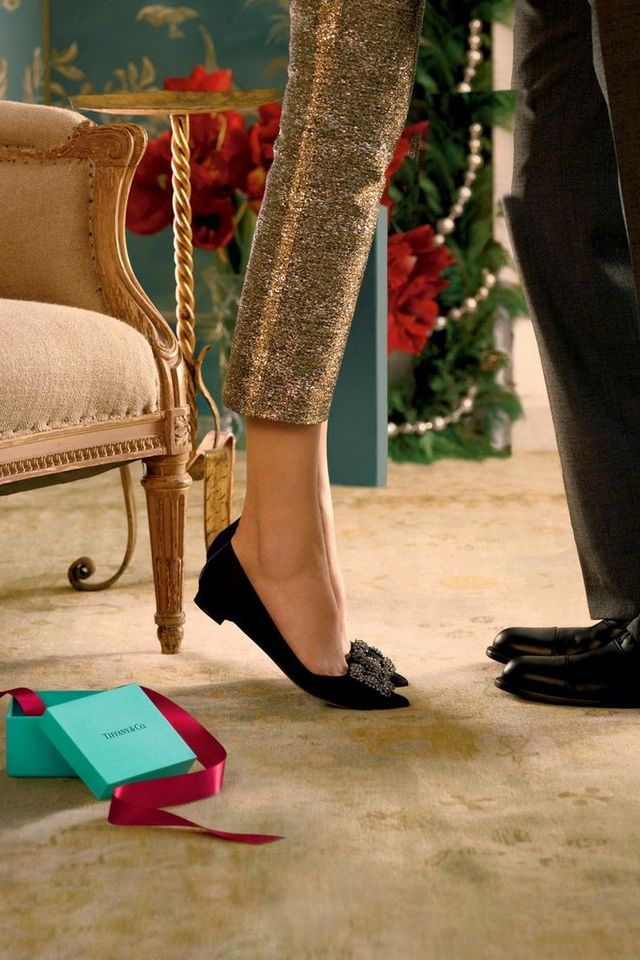 8030e65221090 Tiffany and Co. Holiday Ads + Manolo Blahnik Hangisi | Summer Wind ...