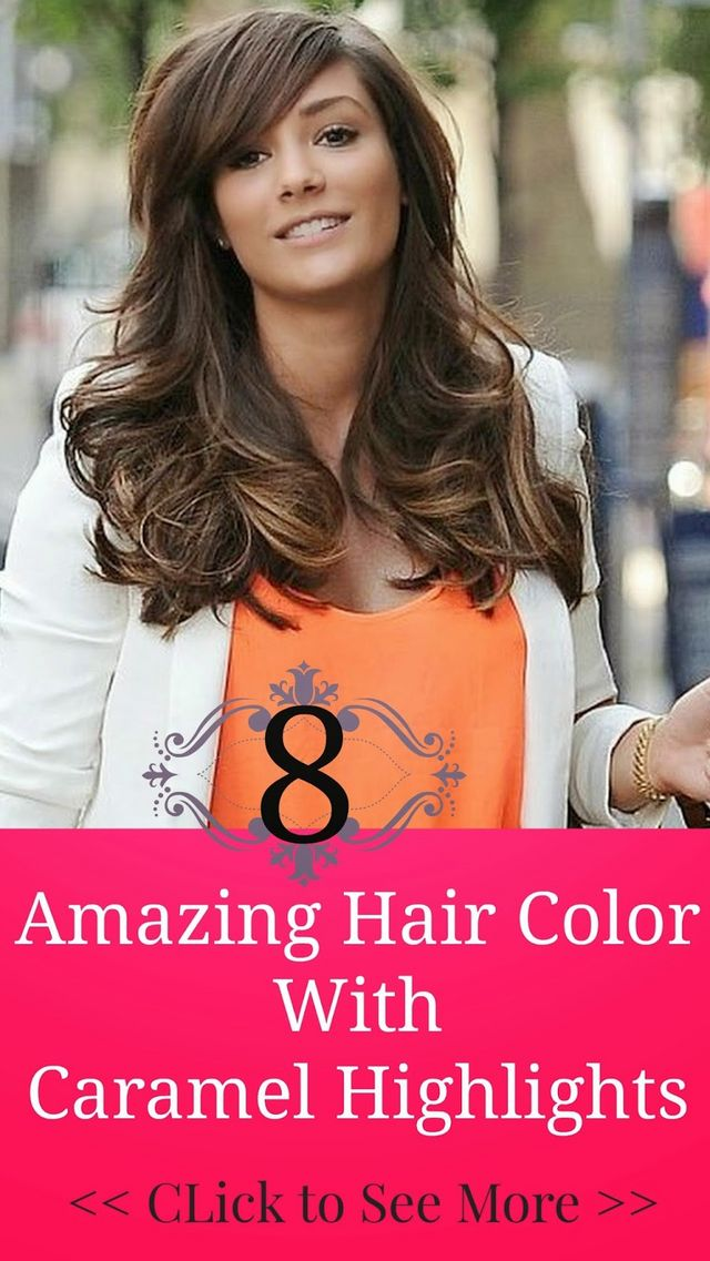 8 Amazing Hair Color With Caramel Highlights Hairstyles Hair
