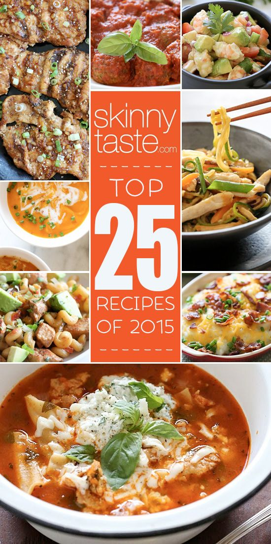 Top 25 Most Popular Skinnytaste Recipes 2015 | Skinnytaste | Bloglovin'