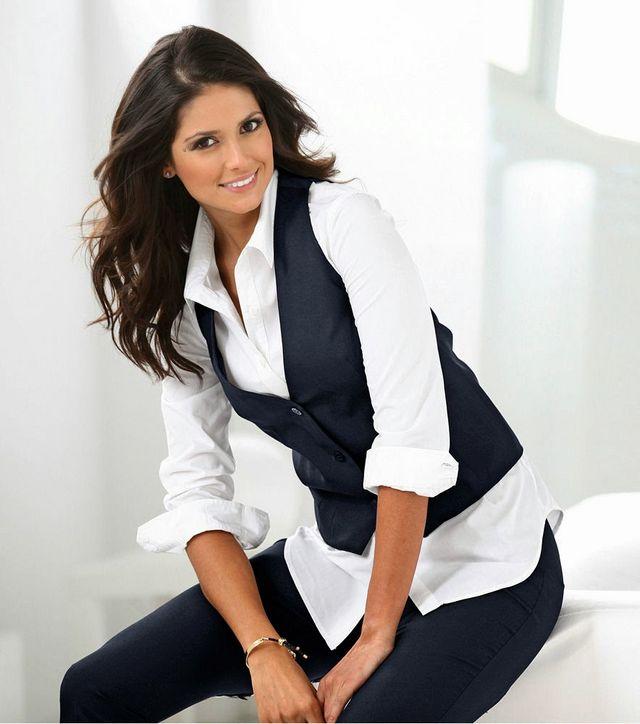 Patrones de chalecos para mujer: 2 modelos (tallas grandes)   contra ...