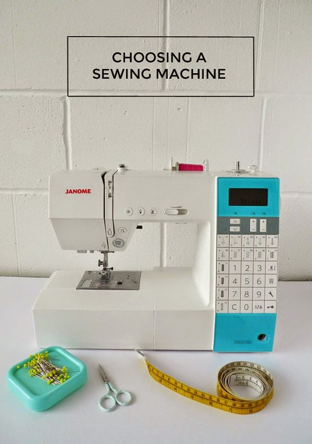 You and Your Sewing Machine: A Sewists Guide to