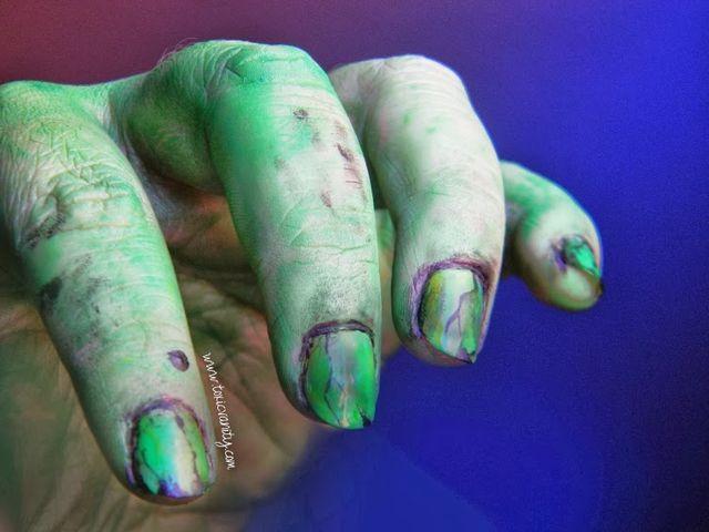 Ideas para Halloween | Manicuras, esmaltes y nail art | Toxic Vanity ...