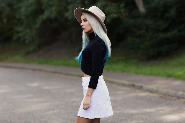 0d7d81f05f6b0 Hat   Urban Outfitters Top   (On sale £20) The Fifth Skirt   Urban  Outfitters Boots   Urban Outfitters I can tell from my shopping habits  lately that I have ...