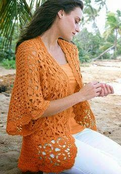 70d28f37d458 Dream of Summer - Crochet Free Lacy Cardigan Chart and Instructions ...