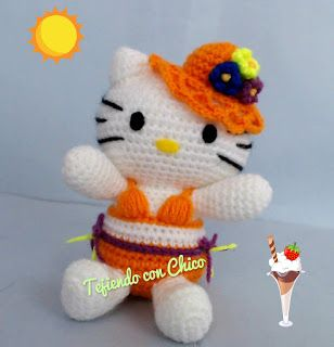 Crochet Amigurumi Hello Kitty [FREE Crochet Pattern] | 320x308