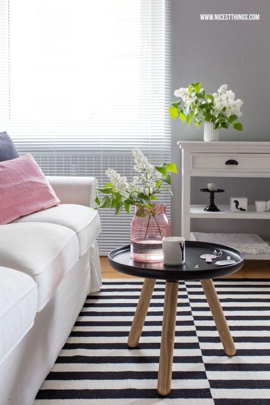 By Loom In Bloom Kunden Zuerst 90 X 90 X 3 Cm Obligatorisch Teppich Acryl Grau