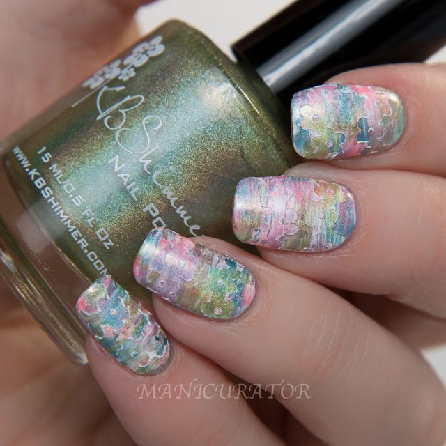 Kbshimmer spring 2015 holos fan brush flower vinyls nail art there are three different nail vinyl sheets available as well check out the official press release which includes images of the new vinyls prinsesfo Choice Image