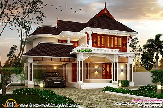Superb Dream House Plan Kerala Home Design Bloglovin