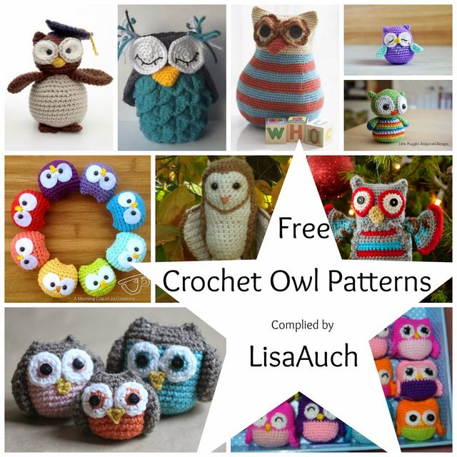 Free Crochet Owl Patterns FREE Crochet Patterns Bloglovin