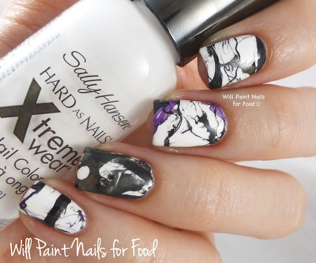 The Digit-al Dozen Does Black & White: Disrupted Water Marble | Will ...