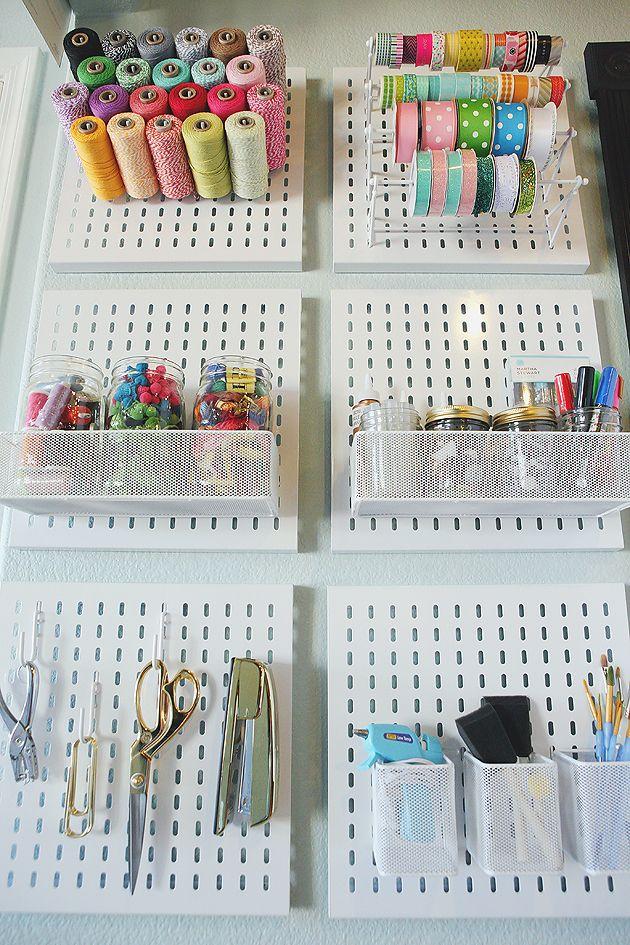 How to organize your craft supplies eighteen25 bloglovin for How to organize craft supplies