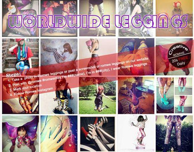 7d335b9b92522 ROMWE Worldwide Leggings Promo | Drowning Equilibriums | Bloglovin'