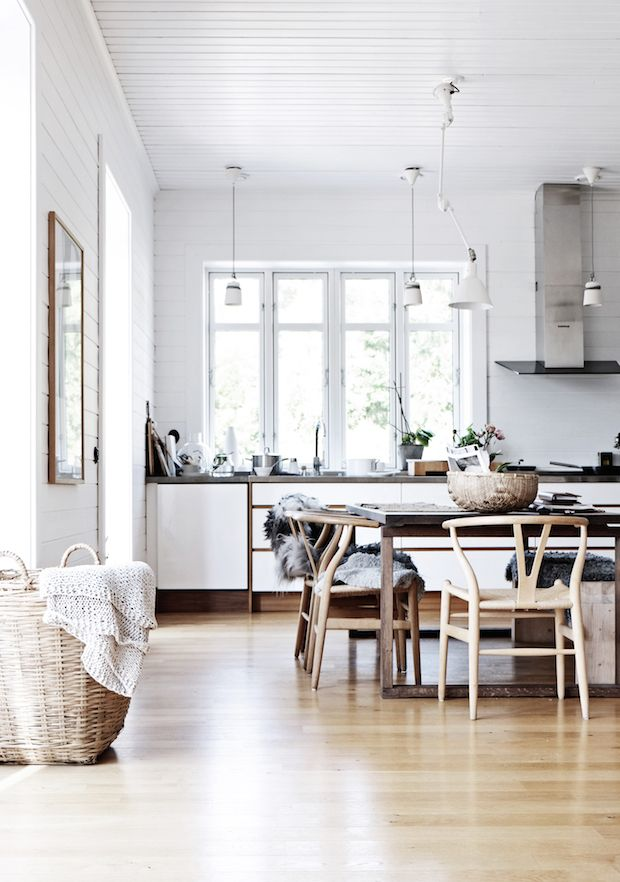 The beautiful home of a Swedish interior