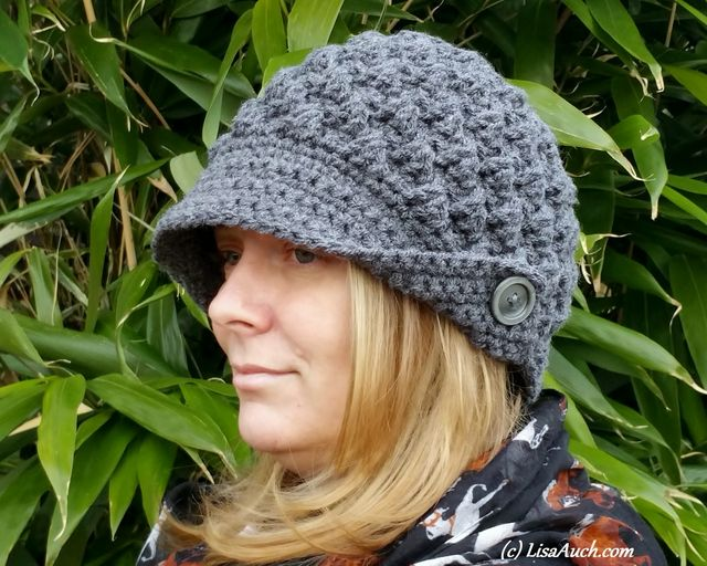 Fashionable Womans Crochet Hat Free Pattern Review Free Crochet