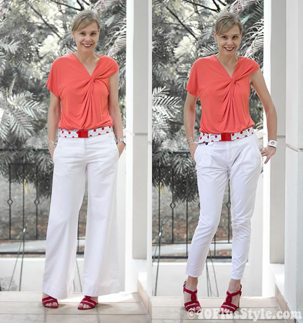 How to wear capris and cropped pants – an extensive guide! | 40  ...