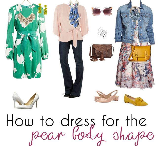 e26fbd5112d How to dress a pear shaped body