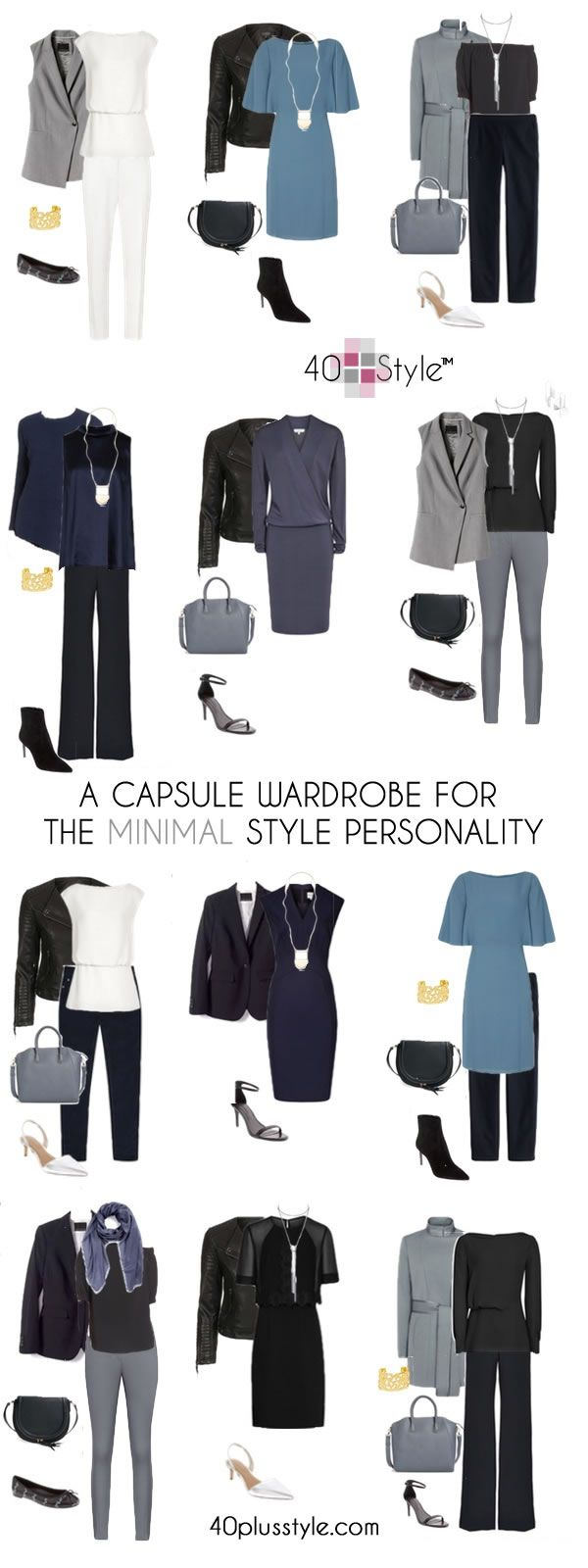 dde4ffbfda2 Here are twelve looks we created for the minimalist style capsule wardrobe,  plus you can shop the boutique for these looks and more to create your own  ...