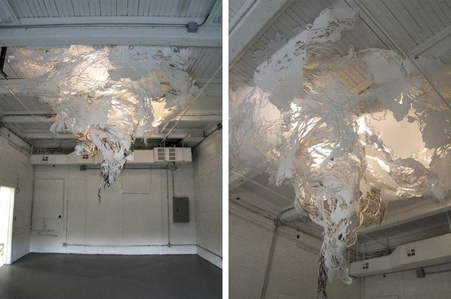 LargeScale Art Installations You Wont Believe Are Made - Japanese artist tightly rolls newspapers to craft incredibly accurate animal sculptures