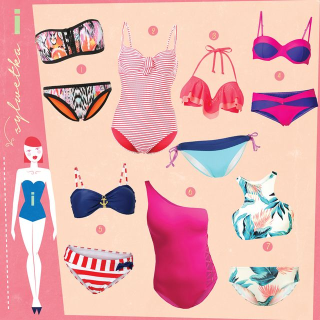 266c4a5af79d6 TRENDS  BATHING SUITS FOR 7 FIGURE TYPES