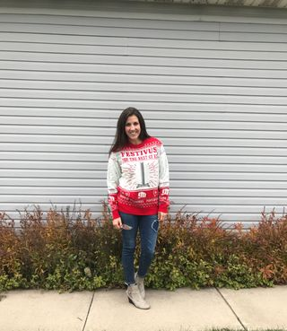 77041d82e03b Ugly Christmas Sweater Outfit