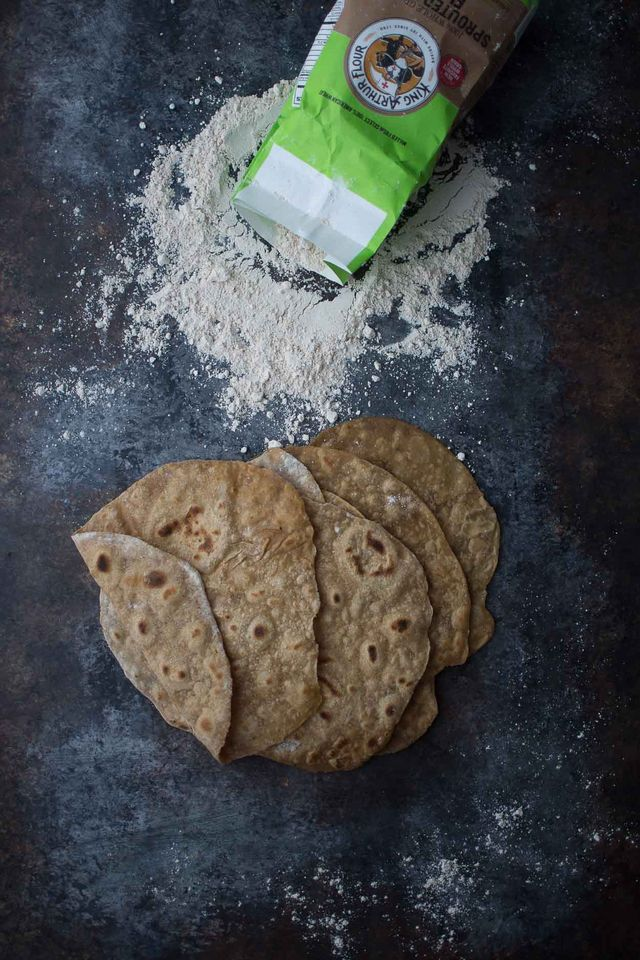Sprouted Wheat Flatbread | The Nourished Kitchen | Bloglovin'