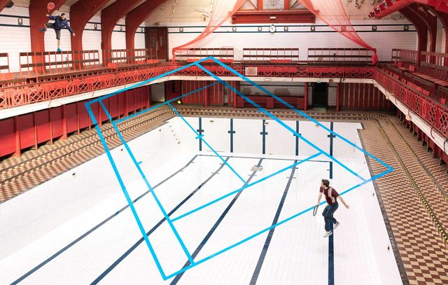 Game Of Tennis In An Abandoned Swimming Pool Captured By Joseph Ford Yellowtrace Bloglovin