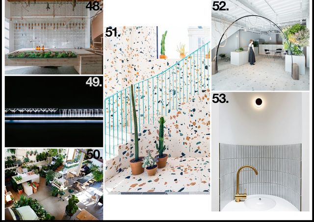 48 Molecure Pharmacy In Taichung Taiwan By Waterfrom Design 49 Sake Central Bar Hong Kong Sean Dix 50 The Plant Society Collingwood