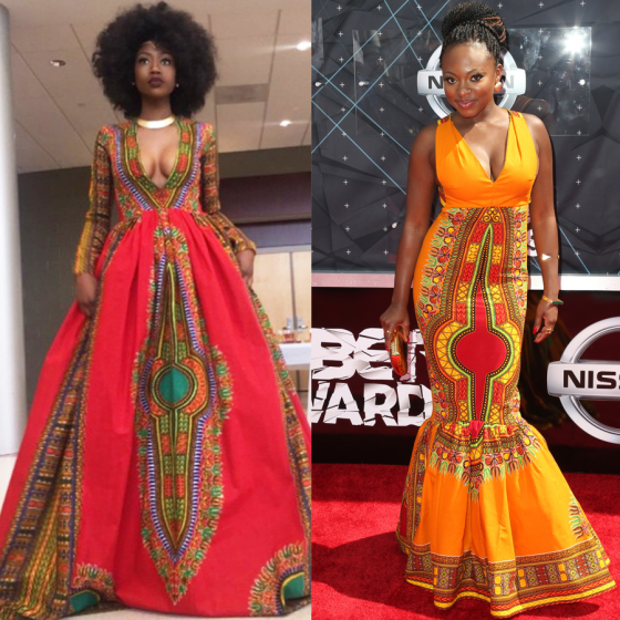 Teen Who Designed Stunning Afro Centric Prom Dress Styles Star For