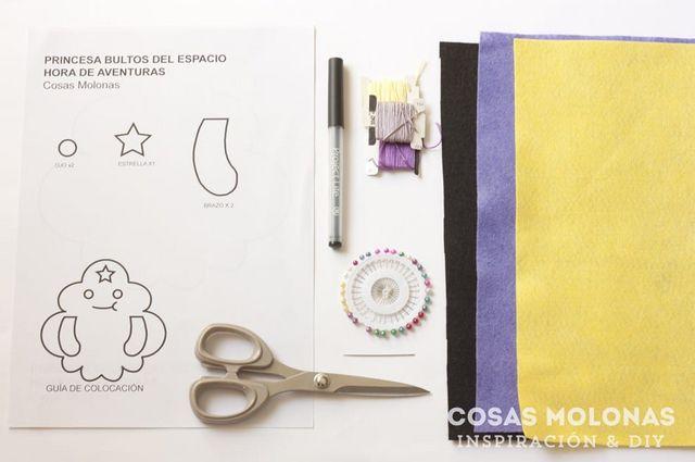 """DIY: Cómo hacer la muñeca """"Princesa del Espacio Bultos"""" de Hora de ..."""