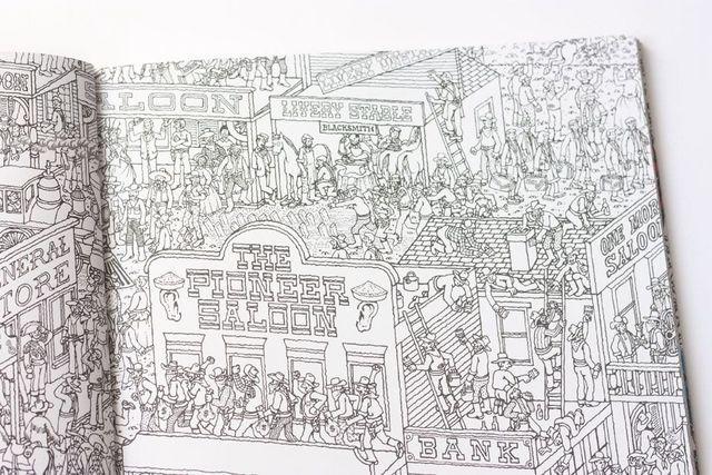 Libro para colorear ¿Dónde está Wally?   Cosas Molonas   Bloglovin\'