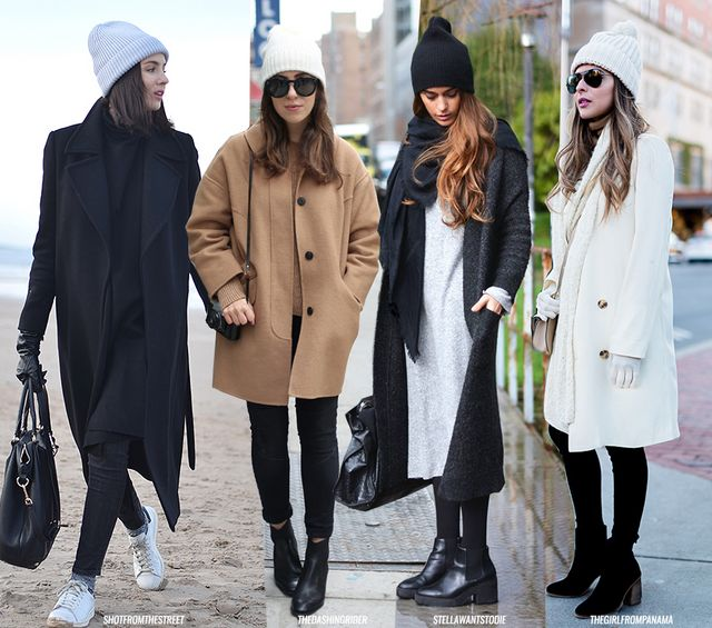No sneakers without socks in Winter. No bare belly to take a walk in the  snow. We are used to fashion bloggers wearing inappropriate Winter looks  (hello f9d5f1f9468